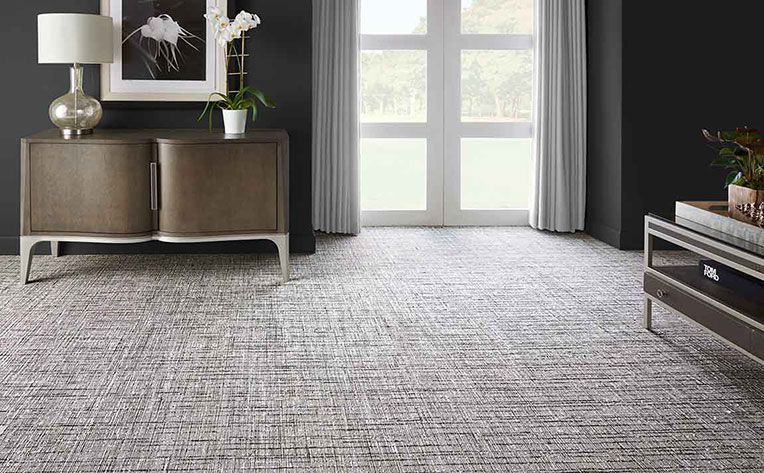 Hypoallergenic Carpet in Family Room